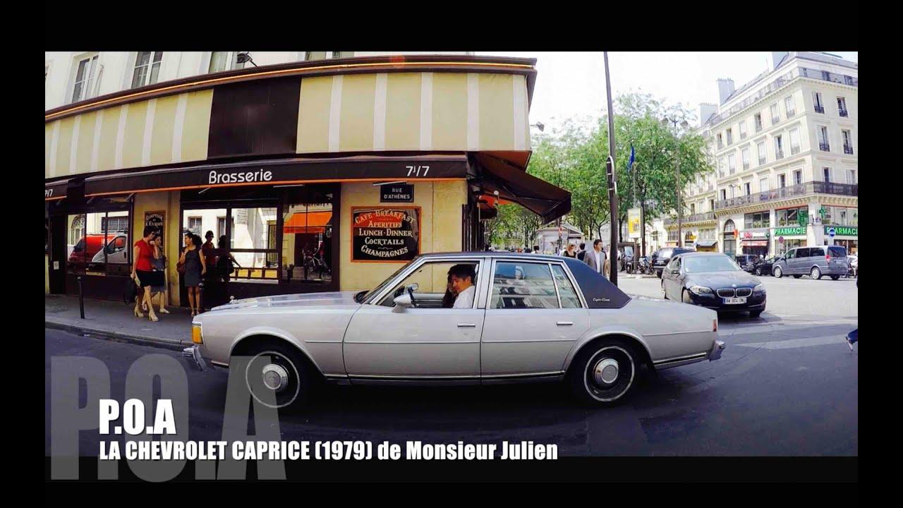 La Chevrolet Caprice Classic 1979 de Monsieur Julien