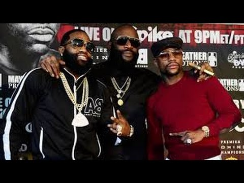 Floyd Mayweather Jr and Adrian Broner be buck-wilden out like nobodys business