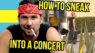 How to Sneak Into a Concert (The Taylor Grift)