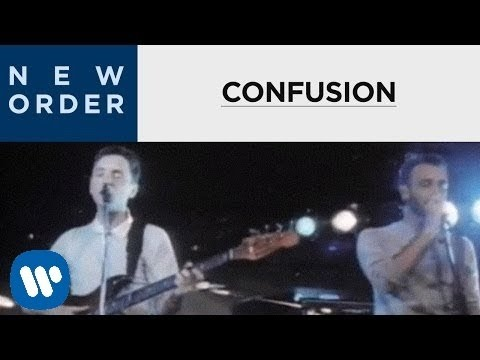 New Order  - Confusion [OFFICIAL MUSIC VIDEO]