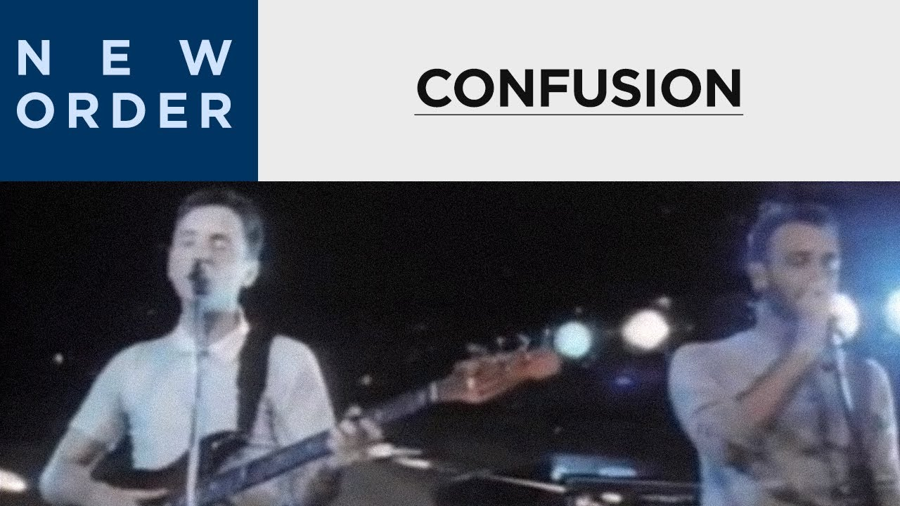 New Order - Confusion (Official Music Video)
