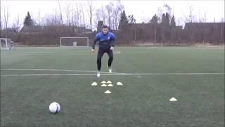 Individual Goalkeeper Training - basic techniques