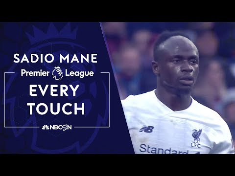 Every Sadio Mane touch from Liverpool's comeback win   Premier League   NBC Sports