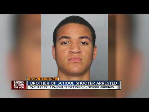 Parkland school shooter's brother arrested for trespassing at Stoneman Douglas