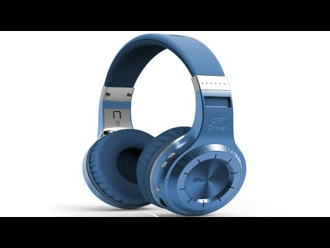 Review: Bluedio HT(shooting Brake) Wireless Bluetooth 4.1 Stereo Headphones (Blue)
