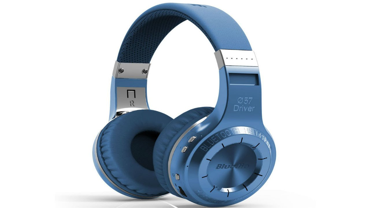 30f3cdc0fe3 Review: Bluedio HT(shooting Brake) Wireless Bluetooth 4.1 Stereo Headphones  (Blue) - YouTube