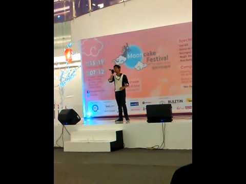 Veri AFI *Tong Hua* mandarin song at pluit village