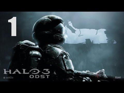 Прохождение Halo 3:ODST - #1: Новая история