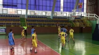 Баскетбол первенство Украины ВЮБЛ 2003 Житомир Титаны Одесса 25.03.2017