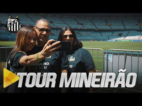 AQUI É SANTOS, SÔ!: TORCEDORES FAZEM TOUR NO MINEIRÃO!