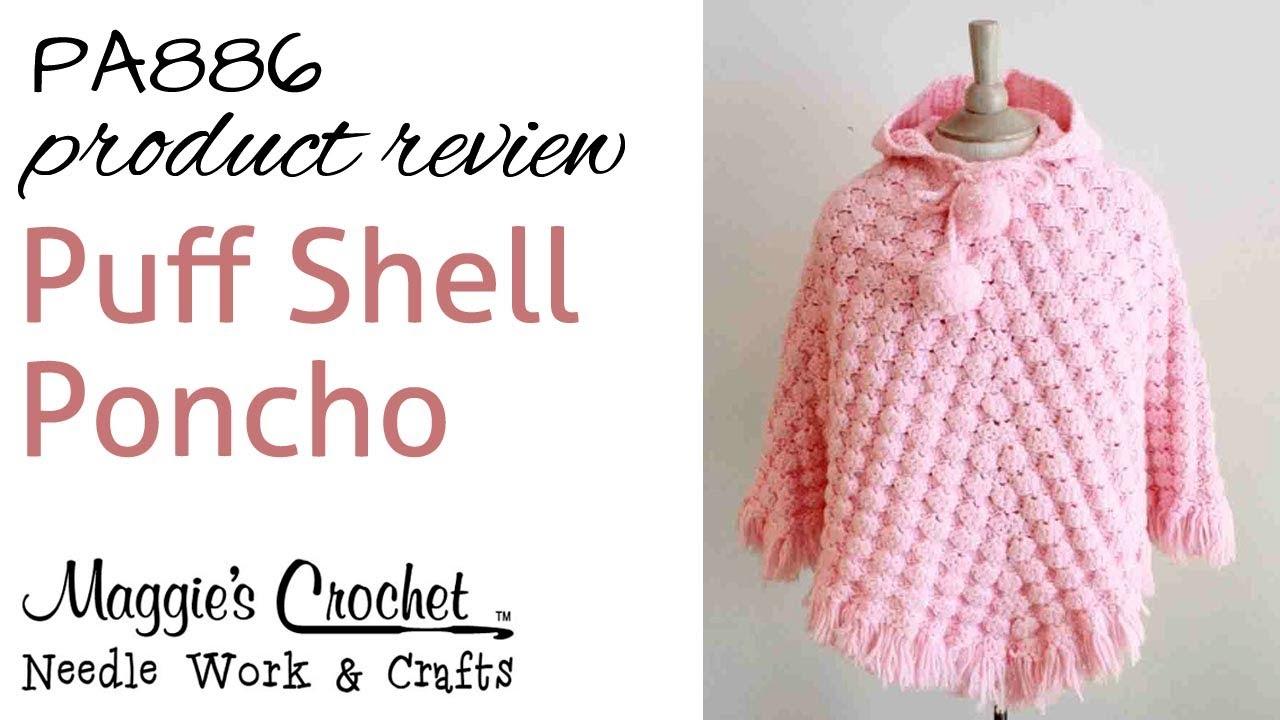 Puff Shell Poncho Pa886 Youtube