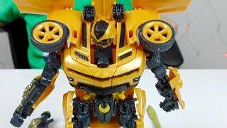 видео Робот-трансформер Trans Robots мяч