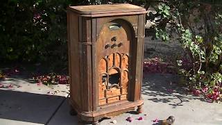 Patterson All Wave 1934 Console Radio Repair And Cabinet