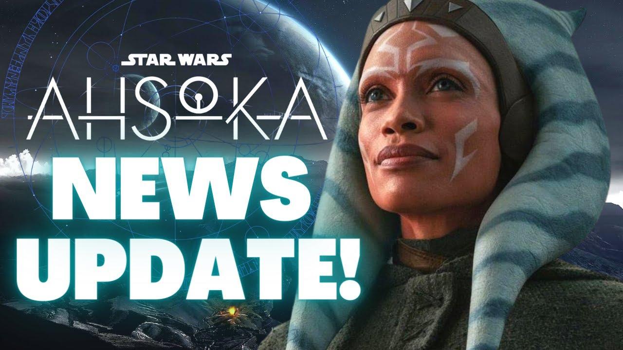NEW Tease For Ahsoka's Future in Leaked Logo, The Mandalorian Season 3 Set & More Star Wars News!