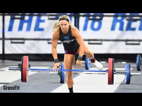 Individual Clean & Jerk Speed Ladder | 2018 CrossFit Games