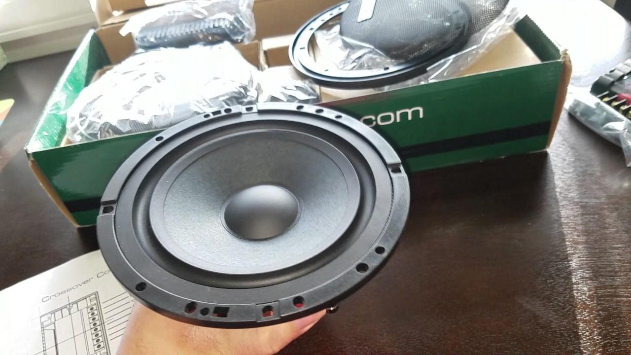Hybrid Audio Technologies Unity U61 2v2 6 5 2 Way Component Speaker Unboxing