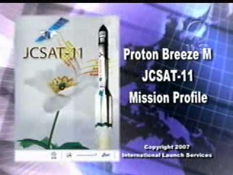 ILS Proton rocket upper stage failure