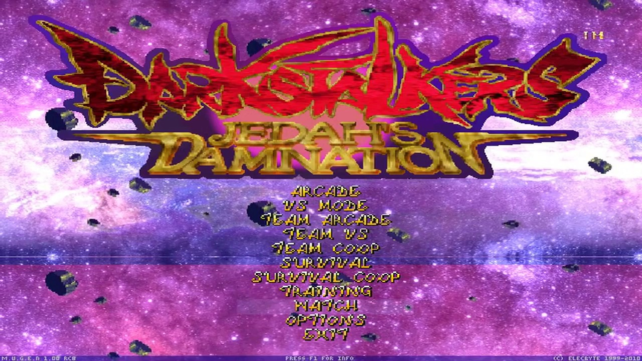 [MUGEN FULLGAME] Darkstalkers: Jedah's Damnation by Joseph War #1