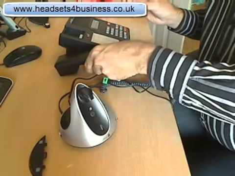 How to connect a wireless headset to a phone with no headset port mp4