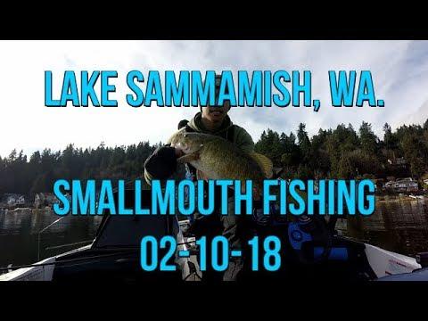Lake Sammamish Smallmouth Fishing 02-10-18