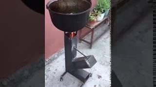 Economical stove for field kitchen Экономичная печка для полевой кухни(, 2017-07-30T07:49:19.000Z)
