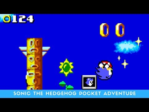 NEO Geo Pocket Longplay #1: Sonic The hedgehog Pocket Adventure