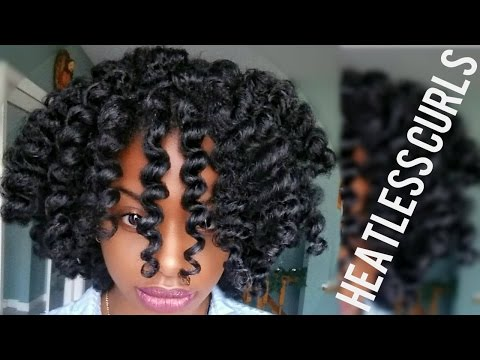 Natural Hair | MOST DEFINED Flexi Rod Set Tutorial