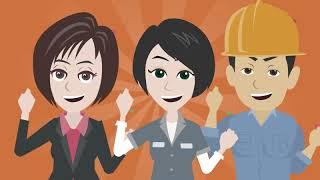 株式会社サンレコ・SANRECO プロモーション映像 / アニメーションを使った会社コンセプト映像