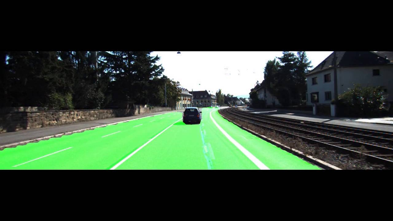 Road Detection using Convolutional Neural Networks