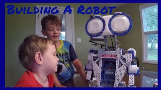 Meccano Meccanoid 2.0 - Our first real robot