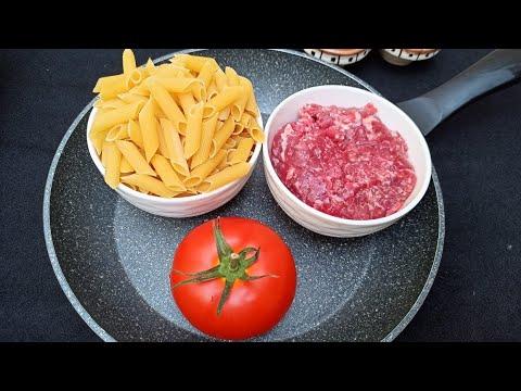 recette-la-plus-simple-peut-être-préparée-avec-ces-ingrédients-/-pasta-🍝-recipe---asmr