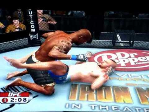 UFC 2009 Rampage Jackson VS Chuck Liddell Online Multiplayer match