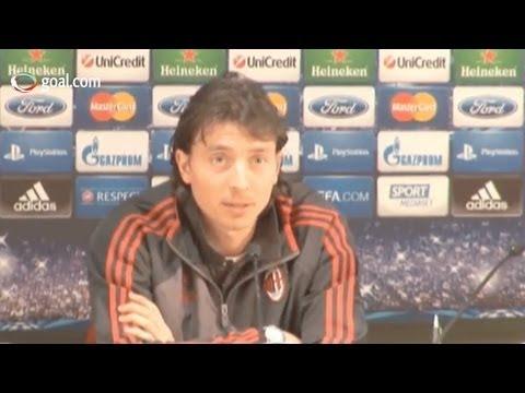 AC Milan vs Barcelona - Riccardo Montolivo pre-match press conference