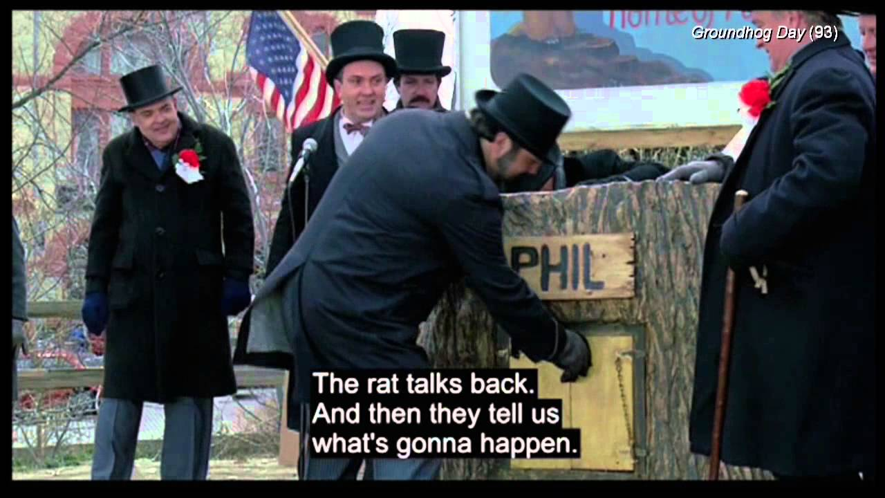 """Groundhog Day Movie Quotes Groundhog Day Clip22 """"they Are Hicks""""  Youtube"""
