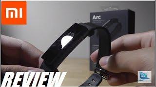 видео Xiaomi Amazfit Arc (Black)