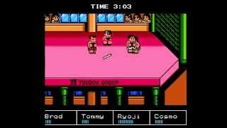 NES Longplay [238] Downtown Nekketsu Koushinkyoku - Cross-Country