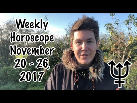 Weekly Horoscope for November 20 - 26, 2017 | Gregory Scott Astrology