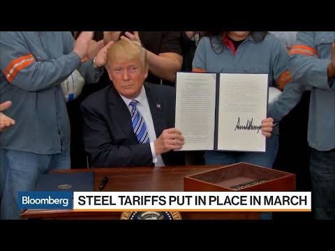 Trump Excludes South Korea, Brazil, Argentina Steel From Import Tariffs