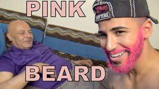 I Dyed My Beard PINK!!!