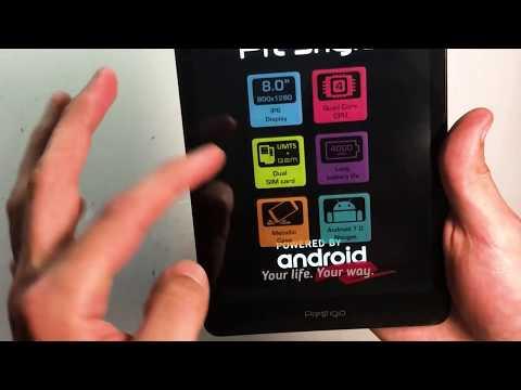 Распаковка планшета Prestigio Muze 3708 3G