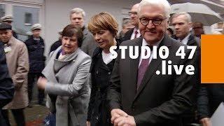 STUDIO 47 .live | BUNDESPRÄSIDENT FRANK-WALTER STEINMEIER BESUCHT MARXLOH