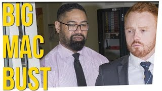 Prison Guard Fired for Using McDonald's Discounts ft. Damien Haas & David So