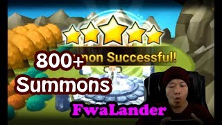 "Summoners War - ""INTERESTING"" LD Nat5 and 800+ Summons on FwaLander"