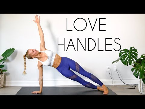LOVE HANDLE Workout BURN BELLY FAT! (At Home No Equipment)