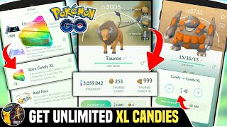 How to Get XL Candies in Pokemon go. Daily get 30-40 XL candies. Get Rare XL Candies screenshot 5