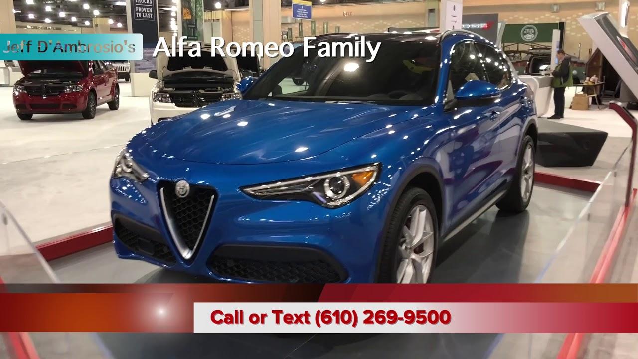 The Alfa Romeo Line Up At The Philadelphia Auto Show Youtube