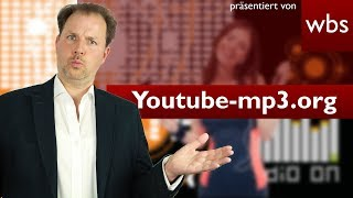 Youtube-mp3.org – Beliebter Converter vor dem Aus! | Rechtsanwalt Christian Solmecke