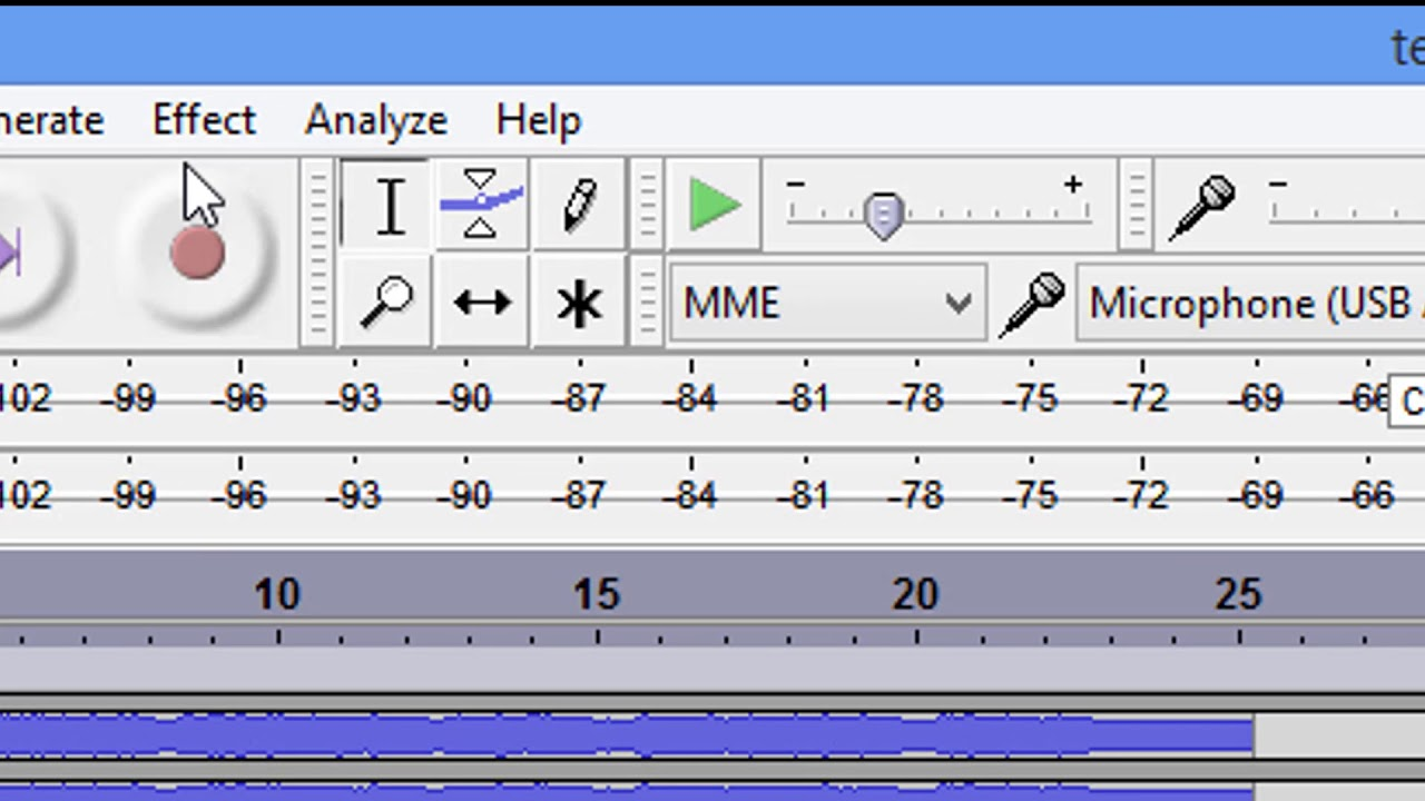 How To Check Your Output Levels In Audacity