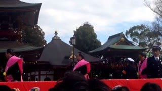 YouTube Captureから 2月3日午後1時30分、成田山新勝寺節分会「特別追儺...