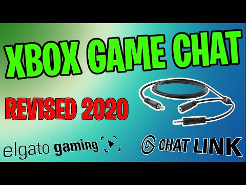 REVISED 2020 How To Enable Game Chat For Xbox With The Elgato Chat Link Cable
